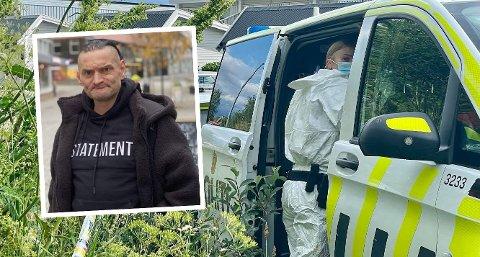 GIKK BORT: Det var Kenneth Eriksen som ble funnet død i Ruggevika i forrige uke. Han ble 50 år. Politiet gjorde rutinemessige undersøkelser på stedet.