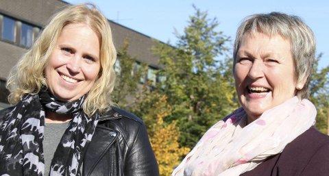 Ordførerambisjoner: Kamilla Thue (t.v.) og Herdis Bragelien kan bli ordførere i henholdsvis Eidskog og Grue   etter høstens kommunevalg.FOTO: ROLF NORDBERG