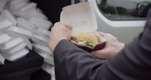 STORE SUMMER: På to år har Øseth brukt over 100.000 kroner på fast food. Foto: TV3