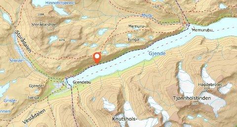 Bukkelægret ligger ved Gjende i Jotunheimen.
