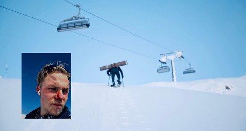 Sist han prøvde seg opp Skeikampen ramlet Erwin-Andreas Cimarolli 30 meter. Nittenåringen lot seg ikke skremme, og prøvde igjen.