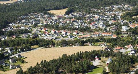 PRIVAT: Asakåsen er ett av mange nye boligfelt i Halden. I likhet med de fleste andre er det bygd ut i privat regi. Halden kommune kan i dag kun tilby fem kommunale tomter – alle på Solheim.