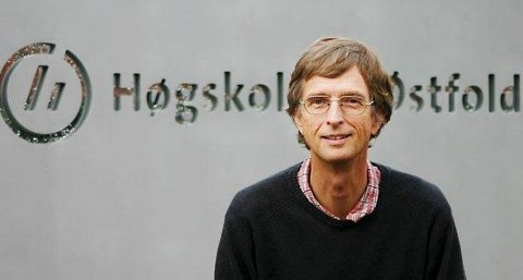REKTOR: Hans Blom ved Høgskolen i Østfold.