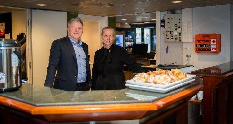 SISTE DAG: Trude Oreld hadde sin siste arbeidsdag som hotelldirektør onsdag. Nå bllir regiondirektør Håvard Elnan midlertidig sjef ved hotellet.