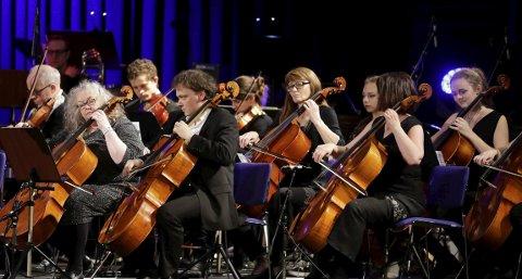 KULTURKIRKEN SKÅRE: Nord-Rogaland symfoniorkester holder vårkonsert.
