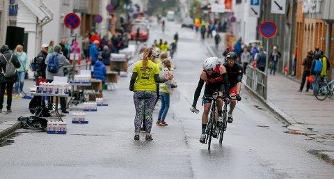 HIT, MEN IKKE LENGER: - Flere veier i sentrum og i distriktet vil være stengt ved ulike tidspunkt, skriver Haugesund kommune om Ironman.