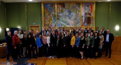 Dette er representantene som skal styre byen de neste fire årene.