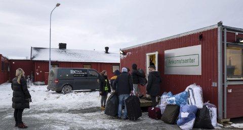 Vestleiren, her fra da Ankomstsenter Finnmark åpnet høsten 2015.