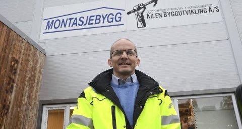 Nytt selskap og ny sjef: Ernst Kalseth er ny daglig leder for det fusjonerte selskapet Kilen Byggutvikling/Montasjebygg AS.