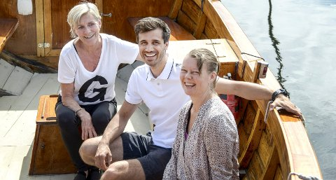 SKÅTØYFESTIVALEN: Heidi Felle, Kim André Øverland og Lise Strømdal Bottolfs har programmet klart for årets festival. Ifølge de tre et program som passer for de aller fleste.