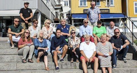 Festklare: Denne gjengen arrangerer byfest i Kragerø kommende uke.