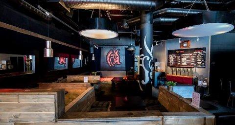 Slik ser det ut på Gulatings pub i Lillestrøm, og noe tilsvarende blir det kanskje på Kongsberg. Driftsdirektør Tom Anders Solberg sier de har mål om å være i gang med en ny pub i løpet av mars.