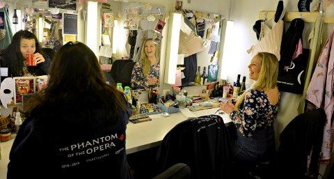 Malin Skjolde i Phantom of the Opera i Folketeateret i Oslo. Foto: Eigil Kittang Ramstad