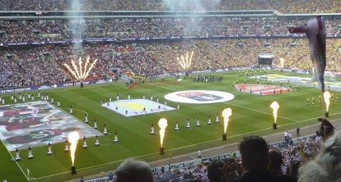 Wembley: Vinneren av Lofotpostens Tippemesterskap vinner en langweekend til London og billett til FA Cup-finalen.FOto: Kristian Rothli