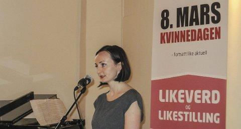 RAMMER BREDT: – På overgrepsmottaket møtte jeg alle typer kvinner, sier Sara Rydland Nærum fra Kvinnefronten.