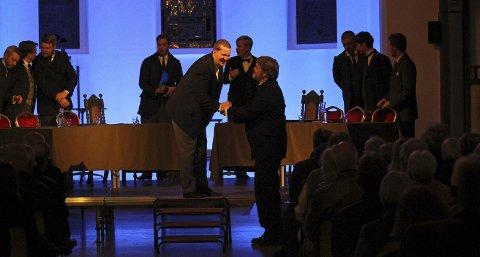 Opera i kirken: En storslått forestilling og en viktig historietime, skriver Moss Avis sin anmelder.foto: pål andreassen