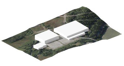 PÅ TEMPLARHEIMEN: Slik vil den nye hallen stå om Tromsøhallen rives. Hallen skal bli multifunksjonel og kommer til å bli den nye storstua for innendørs ballidrett og friidrett.