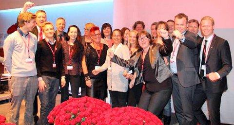 Nytt Ap-landsmøte: 19 utsendinger samt en rekke andre gjester, observatører og ansatte i blant annet partiorganisasjonen fra Oppland tar turen til landsmøtet torsdag. Bildet er fra landsmøtet i 2013.Arkivbilde