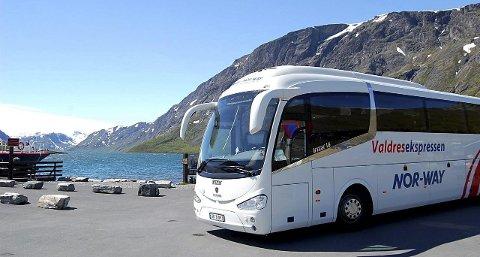 VIKTIG TRANSPORT: På sommerstid kan fjellfolket ta Valdresekspressen inn til Leirvassbu. Men selskpet frakter 150 000 passasjerer året gjennom.