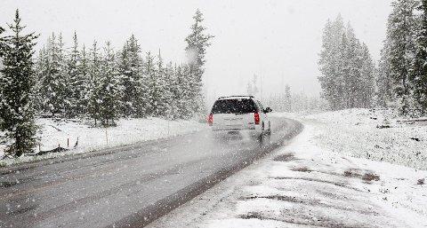 I BAGASJEROMMET: Det er en del viktige saker som burde ligge i bagasjerommet på vintertid.