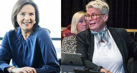 HOLDT KANDIDATUR HEMMELIG: Kommunedirektør Gro Herheim (t.h.) godtok å fjerne navnet til Marit Kobro fra søkerlista til den kommunale lederstillingen. Bakgrunnen var frykt for negativ medieomtale.