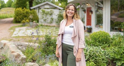 Sandra Skoland er daglig leder for Villa Veierland og lokker med et førjulsarrangement.