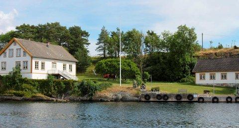 SELGES: Restaurantdriften på Langøya hovedgård er til salgs.