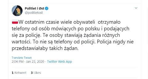 Denne meldingen fra politiets operasjonssentral fikk mange til å stusse torsdag ettermiddag.