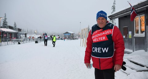 Løypesjef: Johannes Haukåssveen og staben hans i Natrudstilen har atter en gang jobbet fram gode forhold for skifolket. I helga er det norgescup som gjelder.