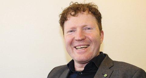 GRØNN VIND: Sigbjørn Gjelsvik ligger an til å bli første direktevalgte Sp-repreasetnant på Stortinget siden Anne Enger ble valgt inn under EU-debatten i 1993.