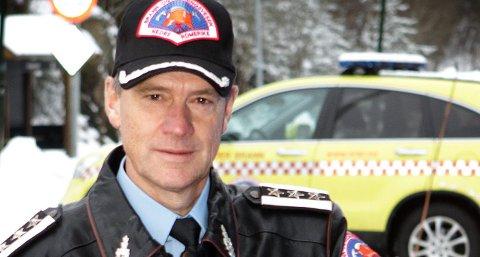 SLUTTER: Brannsjef Jan Gaute Bjerke i Nedre Romerike brann- og redningsvesen.