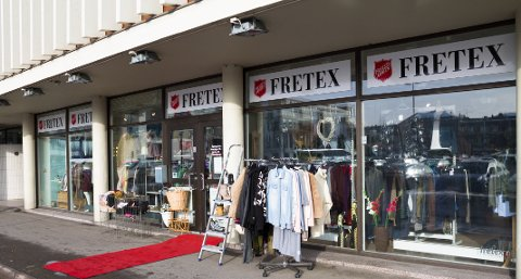 MOT SLUTTEN: Etter mars stenger Fretex i Lillestrøm dørene.