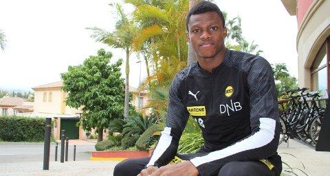 Populær mann: Ebiye Moses er ønsket flere steder. Også på Jessheim stadion bekrefter de at LSK-spissen står på blokka.