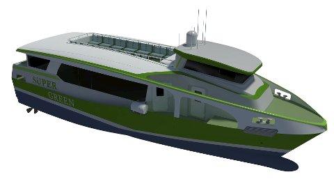 DRØM: Styreleder Knut Førsund i Vollen vel skriver at han har en drøm om at de to dieseldrevne båtene «Baronen» og «Baronessen» snart blir avløst av utslippsfrie båter.