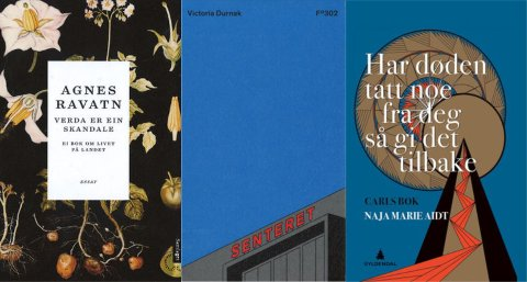 Denne ukens boktips er alle om bøker med norske forfattere.