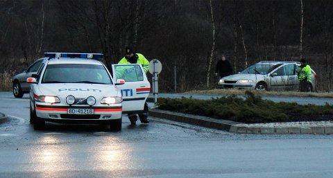 UP gjennomførte lørdag morgen en promillekontroll i Tananger. En bilfører mistet førerkortet etter å ha blåst rødt.