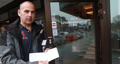 Gabriel Bartolo meiner han har vorte utsett for svensk svindel.