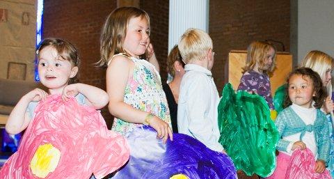 Tananger menighetsbarnehage/SFO hadde nylig sommeravslutning i Tananger kirke.