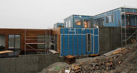 På Myklebust er kommunen i gang med å bygge 16 nye boenheter.