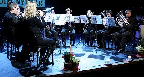 Sola Brass band spiller med full besetning i konkurransen Siddis Brass til helgen.