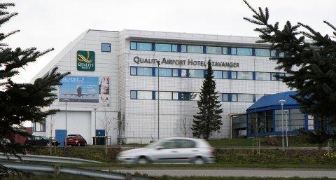 Quality Airport Hotel Stavanger er et av hotellene i Sola som kan bli rammet av streik torsdag.