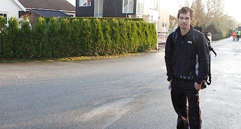 Øyvind Tveit må flytte ut fra leiligheten.