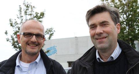 Gründer Bjarne Langeteig og daglig leder Rune Bratseth i Quality Intervention har god grunn til å smile bredt. Onsdag kveld hentet de hjem Reodor-prisen for selskapets nyutviklede brønnteknologi.