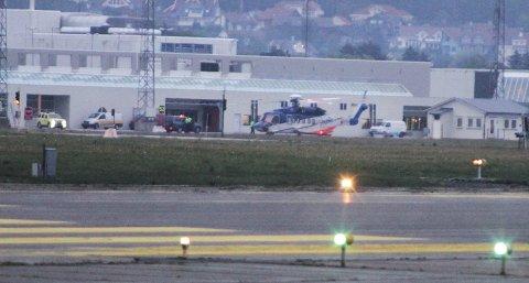 Et Sikorsky S-92 fra Bristow Norway valgte å snu etter indikasjoner på problemer med oljetrykket.
