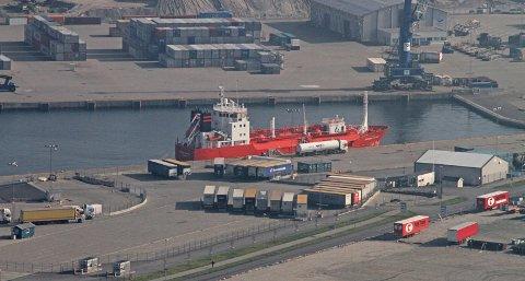 David Ottesen, administrerende direktør i Risavika Havn, har lite til overs for boikottvarselet fra Norsk Transportarbeiderforbund.