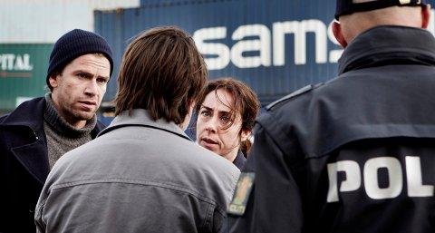 Matthias Borch (Nikolaj Lie Kaas), Sarah Lund (Sofie Gråbøl), Kidnapperen (Thomas W. Gabrielsson)