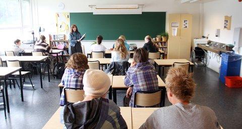 Det er kun 26 prosent mannlige lærere i norsk skole. (Illustrasjonsfoto)