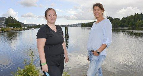 MESTRING: – Jeg er veldig godt fornøyd med Raskere tilbake-tilbudet, sier Vibeke Nygård (t.v.), som nå har startet egen bedrift. Her sammen med veileder Linda Hannevold Holt.