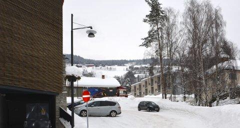 Forau: Kommunen vil bygge fortau frå Fagernes skysstasjon opp mot Valdres lokalmedisinske senter.