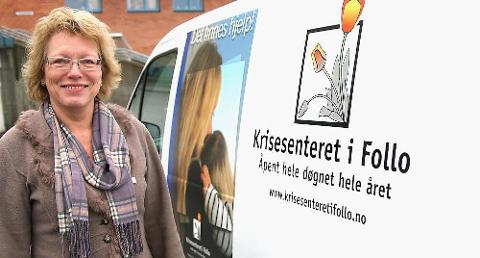 -MELD FRA: - Ser du at andre har det vanskelig er det viktig å melde fra, sier Anne Odenmarck. FOTO: Ole Jonny Johansen